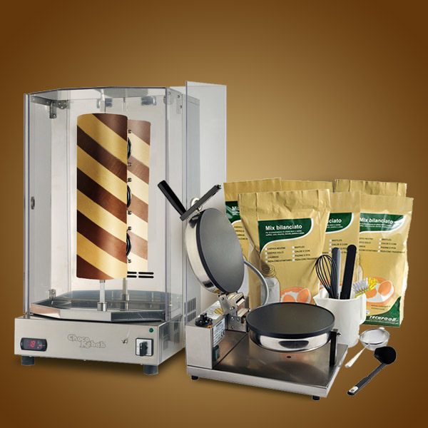 Equipment Choco-Kebab