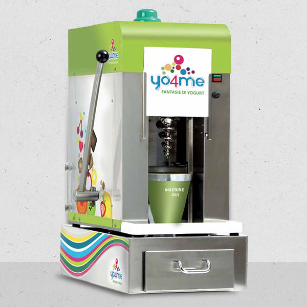 Equipment Frozen Joghurt Konzept